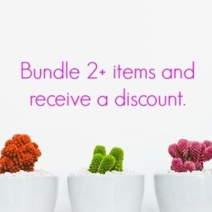 Other - BUNDLE AND SAVE